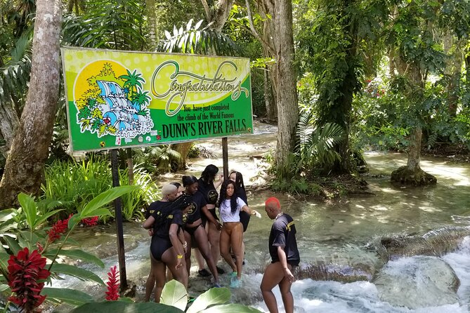 Dunn's River Falls & River Tubing with Lunch from Falmouth