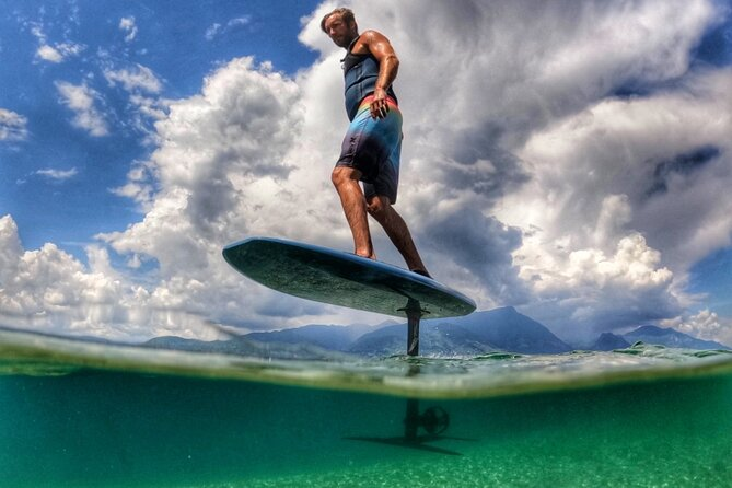 Electric Flying Surfboard Private Lesson on Lago di Garda
