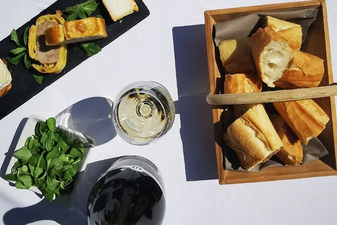 Lunch with Champagne & Ratafia, and cellar tour