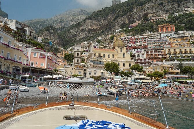 Private Capri & Positano Boat Tour From Sorrento
