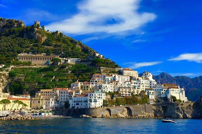 Amalfi and Positano Semi-Private Boat Tour From Sorrento