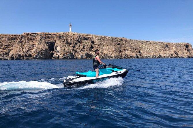 Jet ski excursion in Formentera