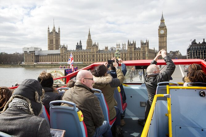 London Hop-on Hop-off Bus and Walking Tour Pass with free Thames River Cruise