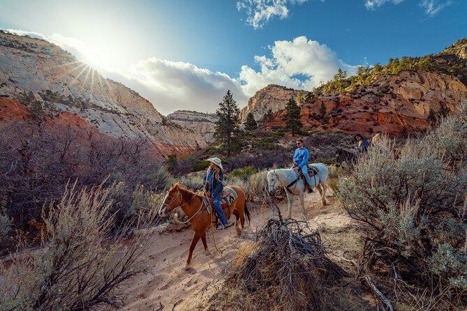 Small-Group East Zion White Mountain Horseback Ride