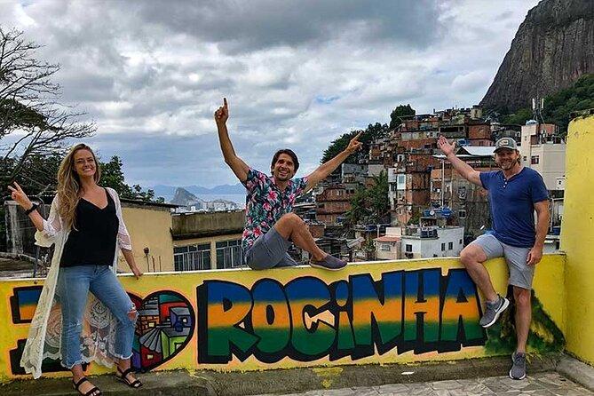 Rio Icons Private Tour: Favela Rocinha, Parque Lage, Christ Statue, Sugarloaf