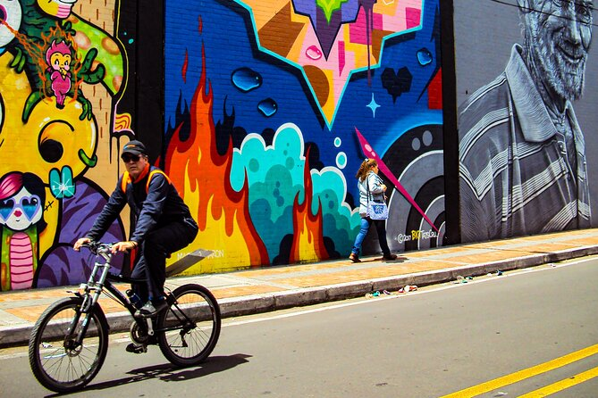 Bogotá Private Bike Tour (5. Hrs.)