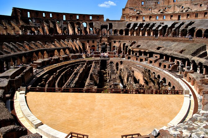 12 People Ultimate Colosseum Underground And Ancient Rome Tour