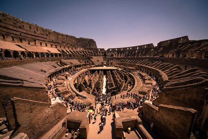 The Official Colosseum Dungeons & Palatine Hill Tour