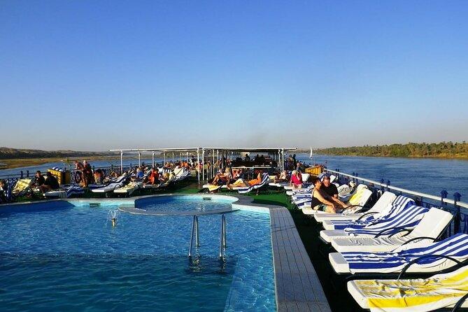 4 Days Nile Cruise Aswan To Luxor,Abu simbel,Balloon, From Marsa Alam