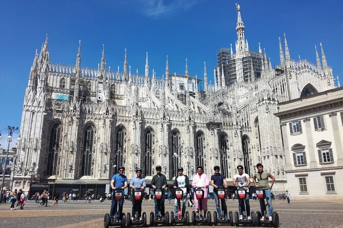 Private Milan Segway Tour - city center - 1 hour & half