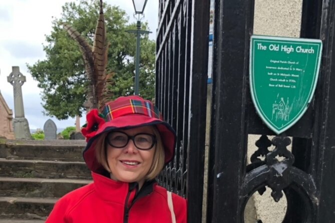 Walk Inverness City Centre With Cath An Experienced Local STGA Green Badge Guide