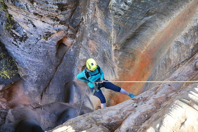 East Zion: Full-day Canyoneering Adventure