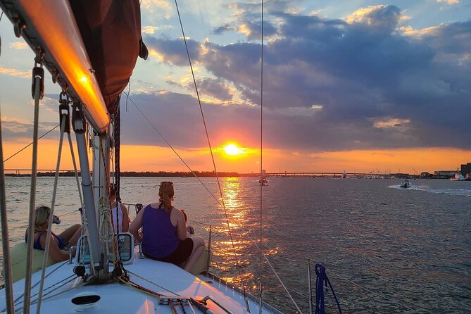Private 3 Hour Charleston Sailing Charter (Sunsets & Day Sails)