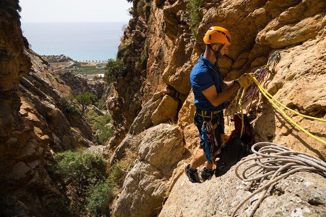 Tsoutsouras Canyon Canyoning -Crete