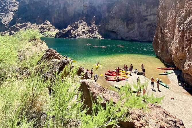 Full-Day Kayak Tour from Willow Beach with Pick Up