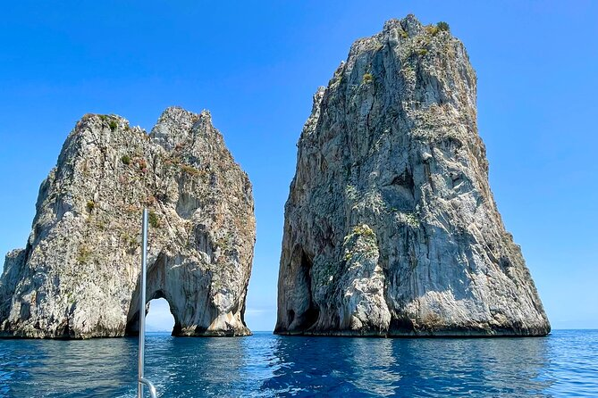 Capri & Sorrento Coast boat tour