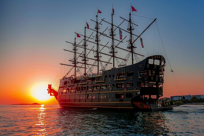 Alanya Sunset Boat Trip