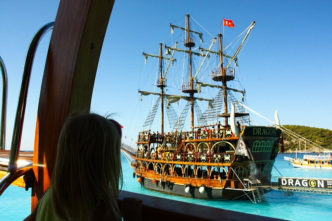 Pirate Adventure Cruise from Side