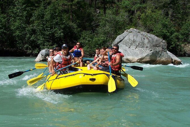 Rafting-Trip für Familien im Köprülü Canyon ab Belek