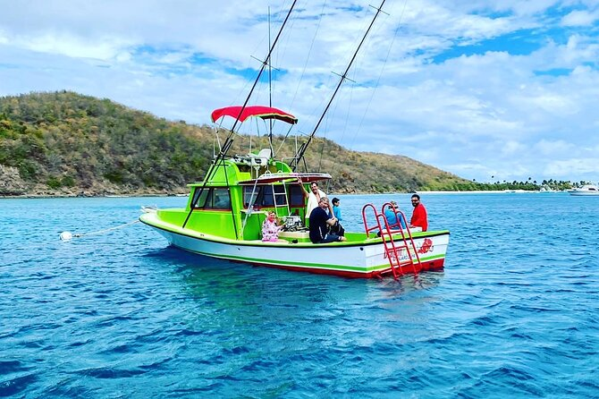 Half Day Private Snorkeling Charter with Lunch from Fajardo