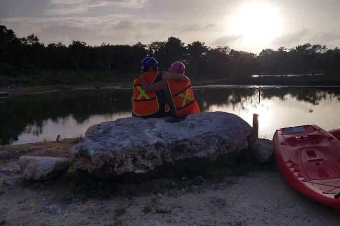 Tulum Sunset ATV, Zipline, Kayak and Cenote Adventure