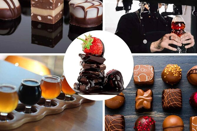 Chocolate and Beer Food Tour in Brussels