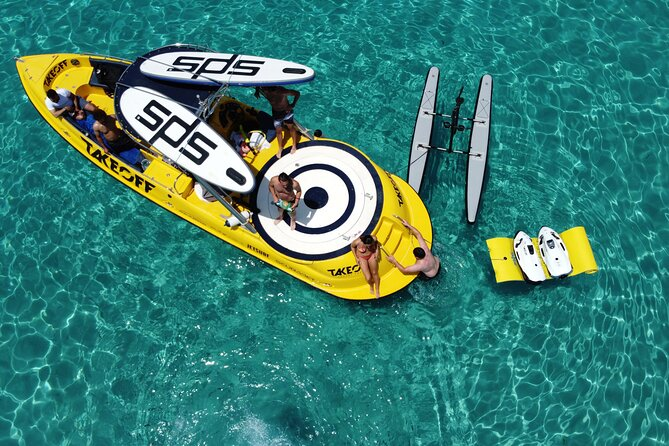 Luxury water toys boat