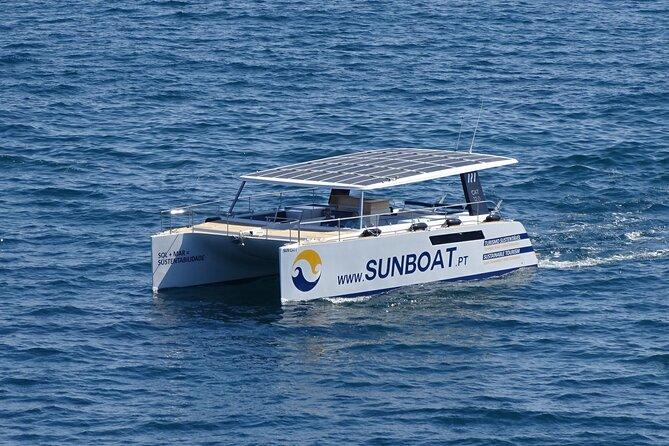 Eco-Friendly Catamaran Coastline Tour with Benagil Cave Visit