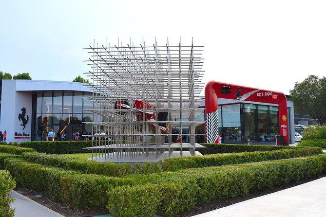Family Motor Day: Lambo & Ferrari Museums, simulators, Ferrari test drive