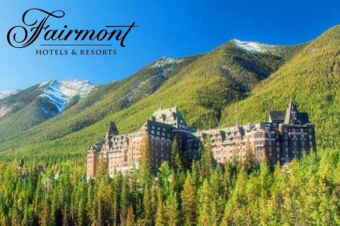 Fairmont Experience 4D Tour in the Rockies from Calgary RouteA(Airport transfer)