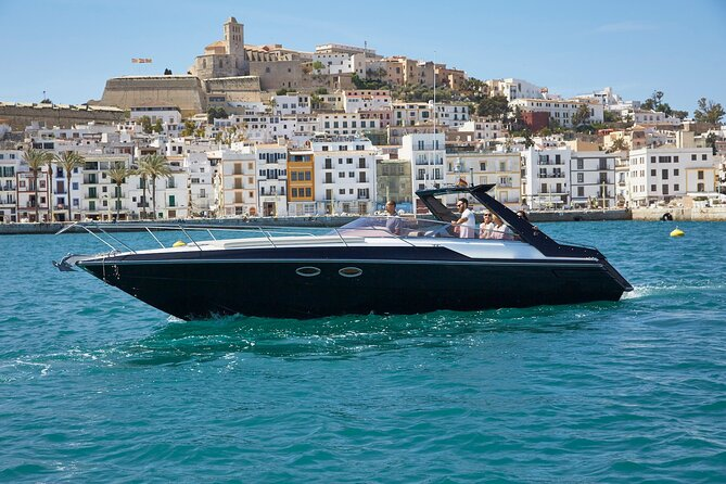 The Best way to see Ibiza - Cool speedboat with Skipper included!