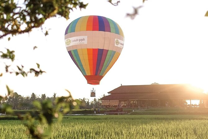 Hot Air Balloon Experience with Meals at Ubud