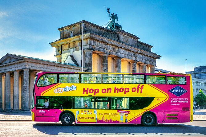 Berlin 1- or 2-Day Hop-On Hop-Off City Circle Tour: Best of Berlin Tour