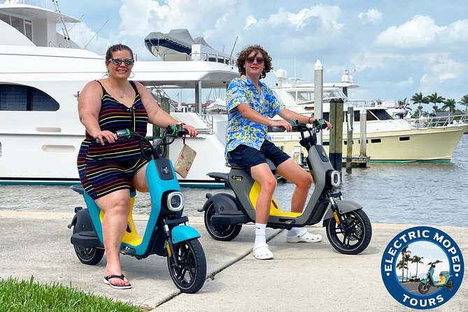 Marco Island Electric Moped Tour