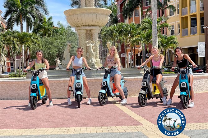 Naples Electric Moped Tour