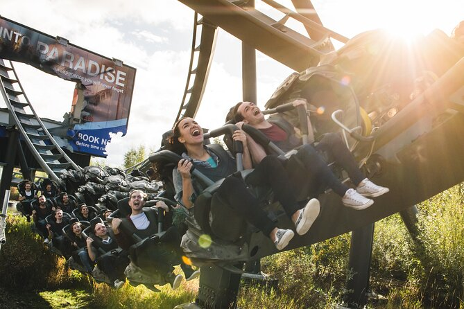 Thorpe Park - return transfer and day pass from Brighton
