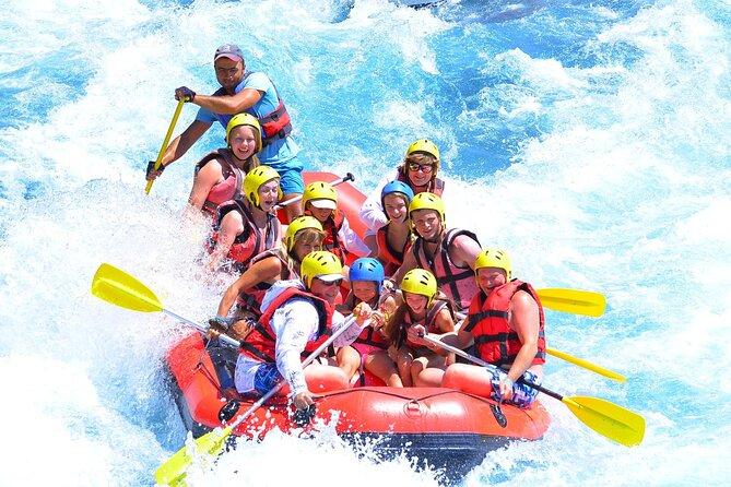 Full-Day Adventure 3 in 1 activity from Antalya to Köprülü Canyon National Park