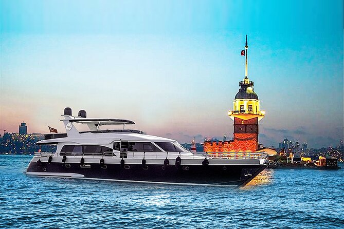 Istanbul Sunset Cruise - Luxurious Yacht Cruise with Live Guide on the Bosphorus