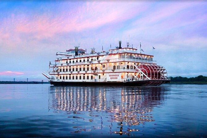 2-Hour Savannah Sunset Riverboat Cruise