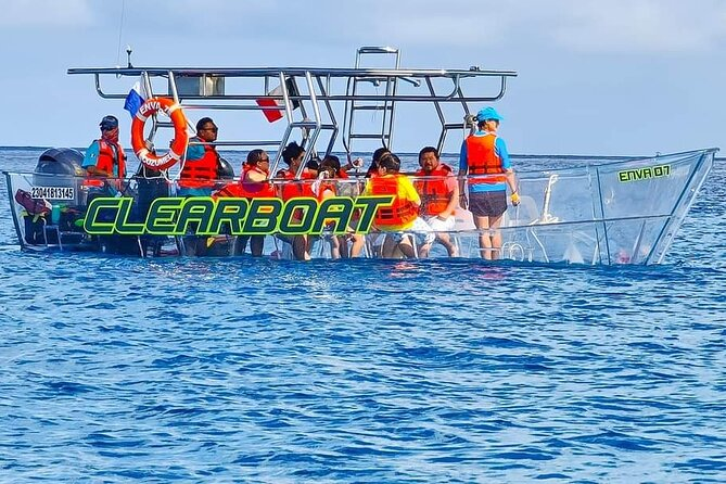 Clear Boat Cozumel All Inclusive Tour with Ground Transportation