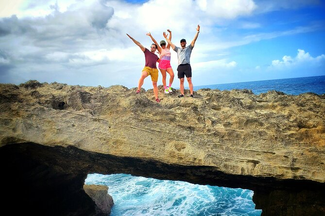Private Rainforest Waterfalls and Beach hiking experience from San Juan