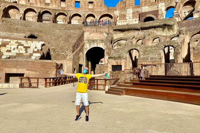 Private Guided Tour of Colosseum Underground, Arena and Forum