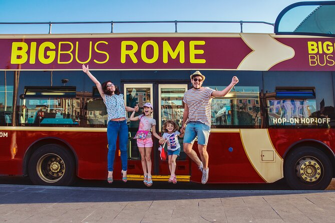 Hop-on Hop-off Sightseeing BigBus Tour in Rome