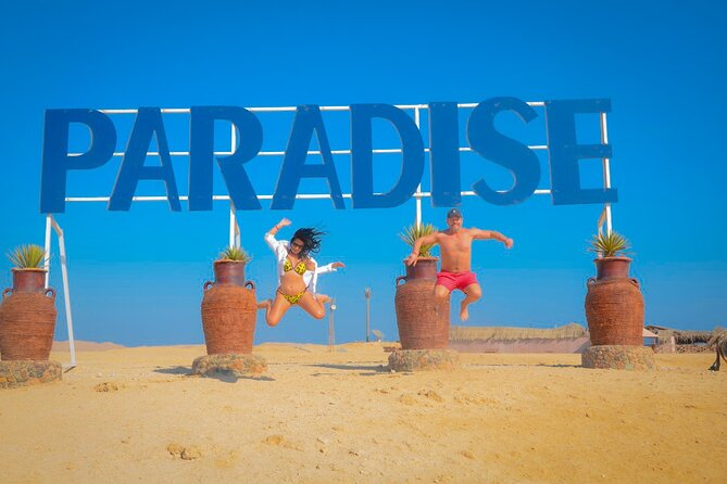 4 Hours Speed Boat to Paradise Island & Water Sport - Private Tour- Hurghada