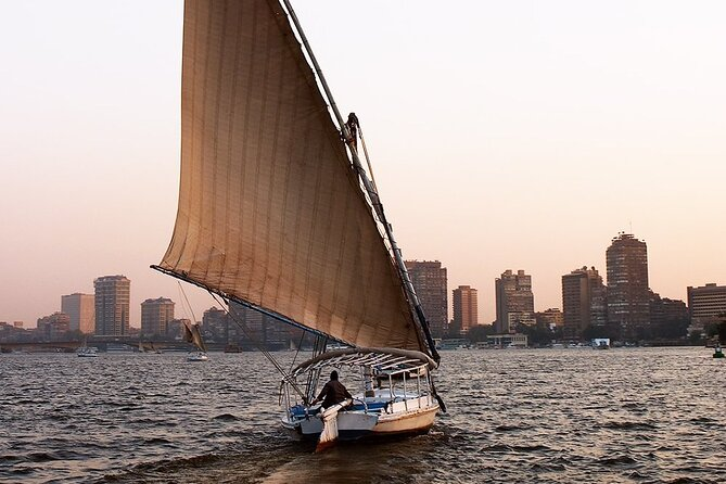 Short Felucca Trip On The Nile In Cairo