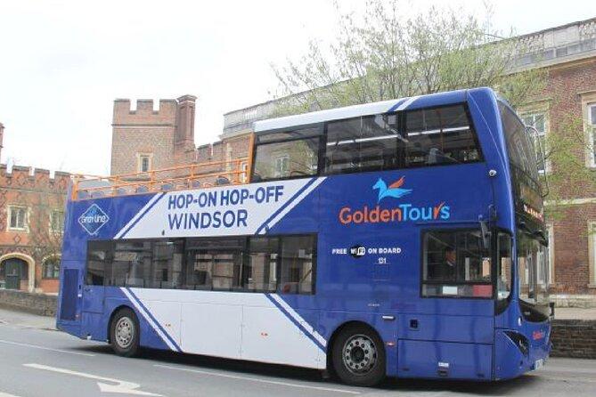 Windsor Hop-on Hop-off Open Top Bus Tour