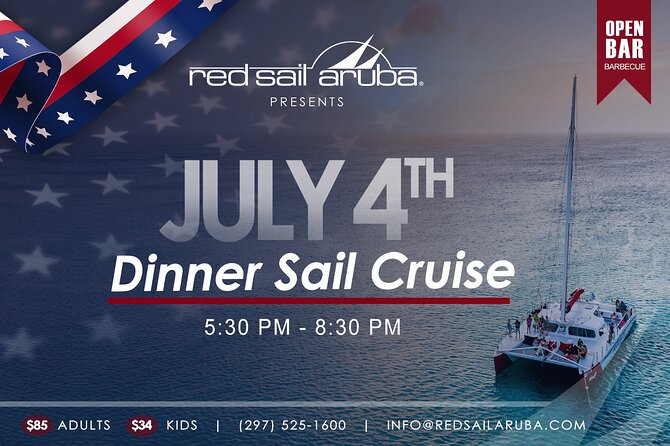 4th of July Dinner Sail