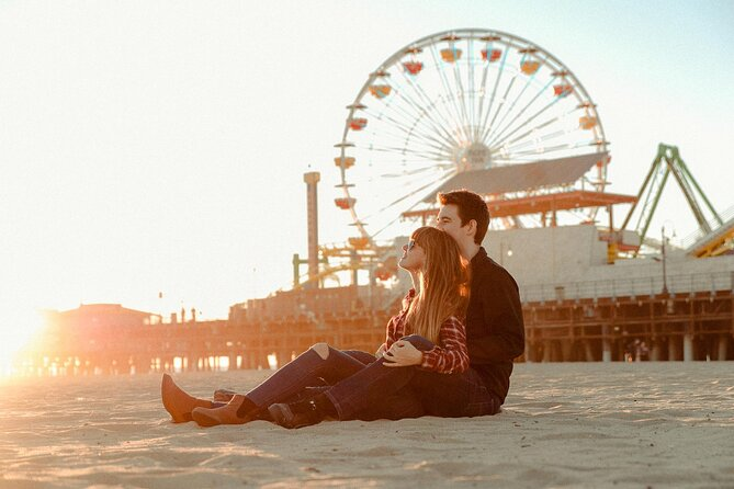 Santa Monica Photoshoots for Families, Couples and Travelers