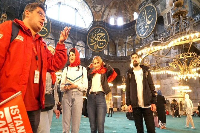 Hagia Sophia Fast Track Entry and 30-Minute Guided Tour