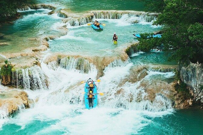 Half-Day Kayaking in Mreznica Waterfalls close to Plitvice Lakes